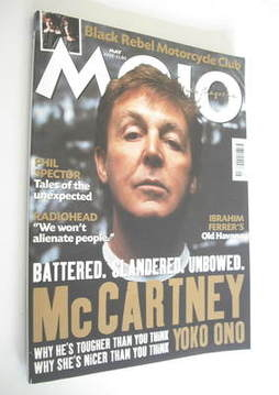 <!--2003-05-->MOJO magazine - Paul McCartney cover (May 2003 - Issue 114)