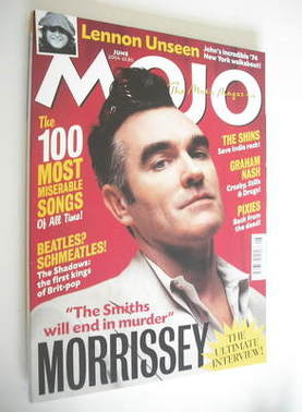 <!--2004-06-->MOJO magazine - Morrissey cover (June 2004 - Issue 127)