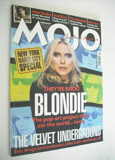 MOJO magazine - Blondie cover (February 1999 - Issue 63)