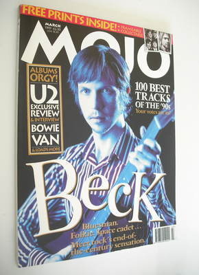 <!--1997-03-->MOJO magazine - Beck cover (March 1997 - Issue 40)