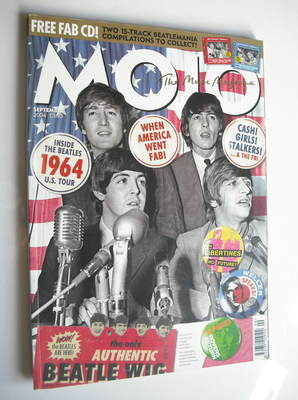 <!--2004-09-->MOJO magazine - The Beatles cover (September 2004 - Issue 130
