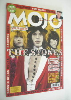 MOJO magazine - The Rolling Stones cover (October 2004 - Issue 131)