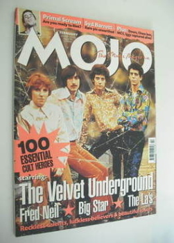 MOJO magazine - The Velvet Underground cover (February 2000 - Issue 75)