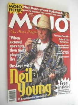 MOJO magazine - Neil Young cover (July 1997 - Issue 44)