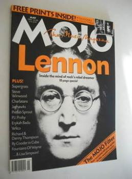 MOJO magazine - John Lennon cover (May 1997 - Issue 42)