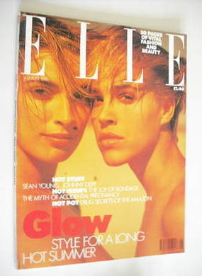 <!--1990-08-->British Elle magazine - August 1990