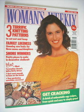 <!--1990-07-03-->Woman's Weekly magazine (3 July 1990)