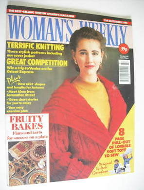 <!--1990-09-11-->Woman's Weekly magazine (11 September 1990)