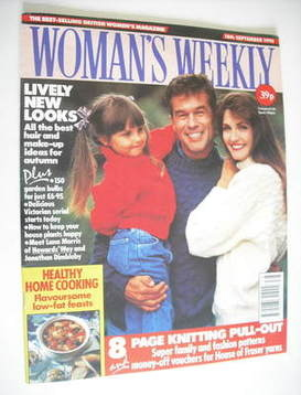 <!--1990-09-18-->Woman's Weekly magazine (18 September 1990)