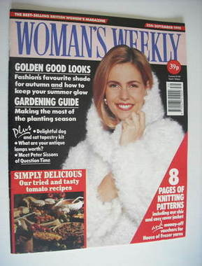 <!--1990-09-25-->Woman's Weekly magazine (25 September 1990)