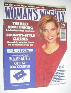 <!--1990-10-02-->Woman's Weekly magazine (2 October 1990)