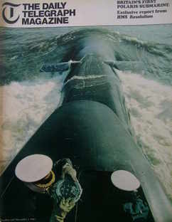 <!--1967-12-01-->The Daily Telegraph magazine - Polaris Submarine cover (1