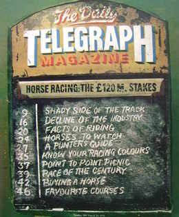 <!--1976-03-26-->The Daily Telegraph magazine - Horse Racing cover (26 Marc