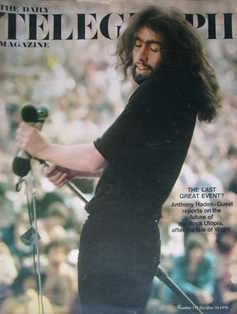 The Daily Telegraph magazine - Isle Of Wight Festival cover (30 October 1970)