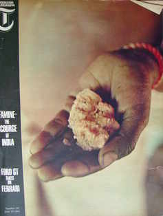 <!--1965-06-18-->Weekend Telegraph magazine - Famine cover (18 June 1965)