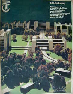 <!--1967-03-17-->Weekend Telegraph magazine - The Future Houses of Parliame