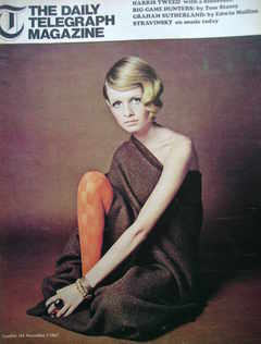 <!--1967-11-03-->The Daily Telegraph magazine - Twiggy cover (3 November 19