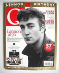 <!--2010-11-->Q magazine - John Lennon cover (November 2010 - Cover 1 of 4)