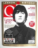 Q magazine - John Lennon cover (November 2010 - Cover 2 of 4)