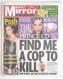 Daily Mirror newspaper - Prince cover (9 July 2010)