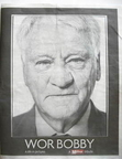 Daily Mirror newspaper supplement - Bobby Robson (1 August 2009)