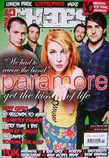 Big Cheese magazine - November 2009 - Paramore cover