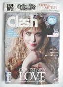 Clash magazine - Courtney Love cover (March 2010)