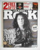Classic Rock magazine - Summer 2010 - Ronnie James Dio cover