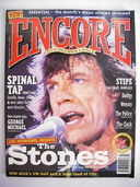 ENCORE magazine - Mick Jagger cover (July 1995 - Issue 1)