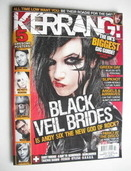 <!--2011-02-19-->Kerrang magazine - Black Veil Brides cover (19 February 20