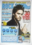 <!--2009-12-->Rock Sound magazine - Jared Leto cover (December 2009)