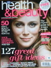 Boots Health & Beauty magazine (November/December 2008 - Keeley Hawes cover)