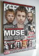 <!--2010-09-25-->Kerrang magazine - Muse cover (25 September 2010 - Issue 1