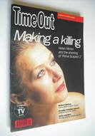 <!--1992-12-02-->Time Out magazine - Helen Mirren cover (2-9 December 1992)