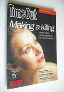 Time Out magazine - Helen Mirren cover (2-9 December 1992)
