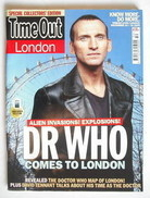 <!--2009-12-10-->Time Out magazine - Christopher Eccleston cover (10-16 Dec