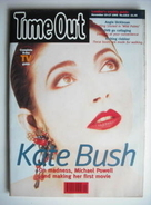 Time Out magazine - Kate Bush cover (10-17 November 1993)