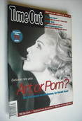 Time Out magazine - Madonna cover (21-28 October 1992)