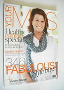 M&S magazine - Caroline Quentin cover (January/February 2011)