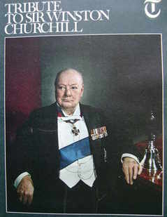 The Daily Telegraph magazine supplement - Tribute to Sir Winston Churchill