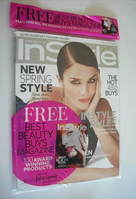 British InStyle magazine - March 2011 - Helena Christensen cover