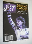 Jet magazine - Remembering The King Of Pop Michael Jackson cover (20-27 Jul