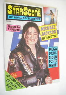StarScene magazine - Michael Jackson cover (Issue 1) (1993)