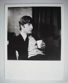 John Lennon black/white glossy card