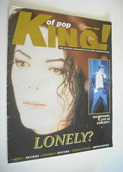 King of Pop magazine - Michael Jackson cover (1995 - Issue 4)