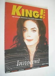 King of Pop magazine - Michael Jackson cover (1994 - Issue 1)