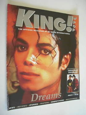 King of Pop magazine - Michael Jackson cover (1995 - Issue 2)