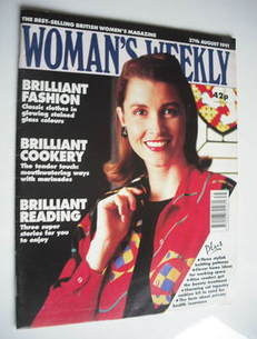 <!--1991-08-27-->Woman's Weekly magazine (27 August 1991)