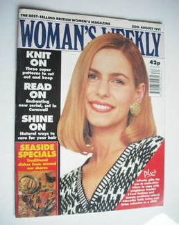 <!--1991-08-20-->Woman's Weekly magazine (20 August 1991)