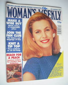 <!--1991-08-06-->Woman's Weekly magazine (6 August 1991)